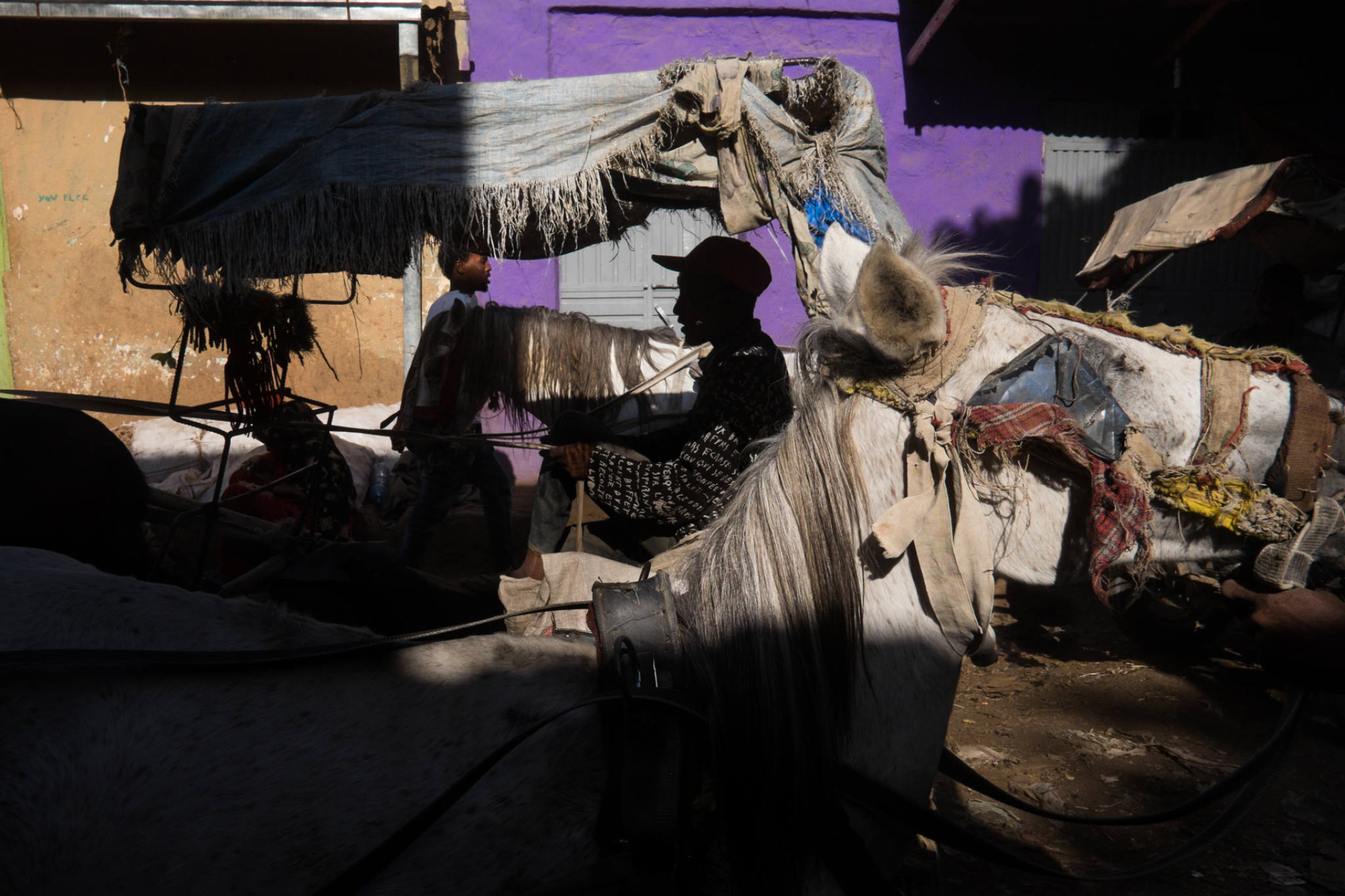 Ethiopia by Yves Vernin street photography color 23
