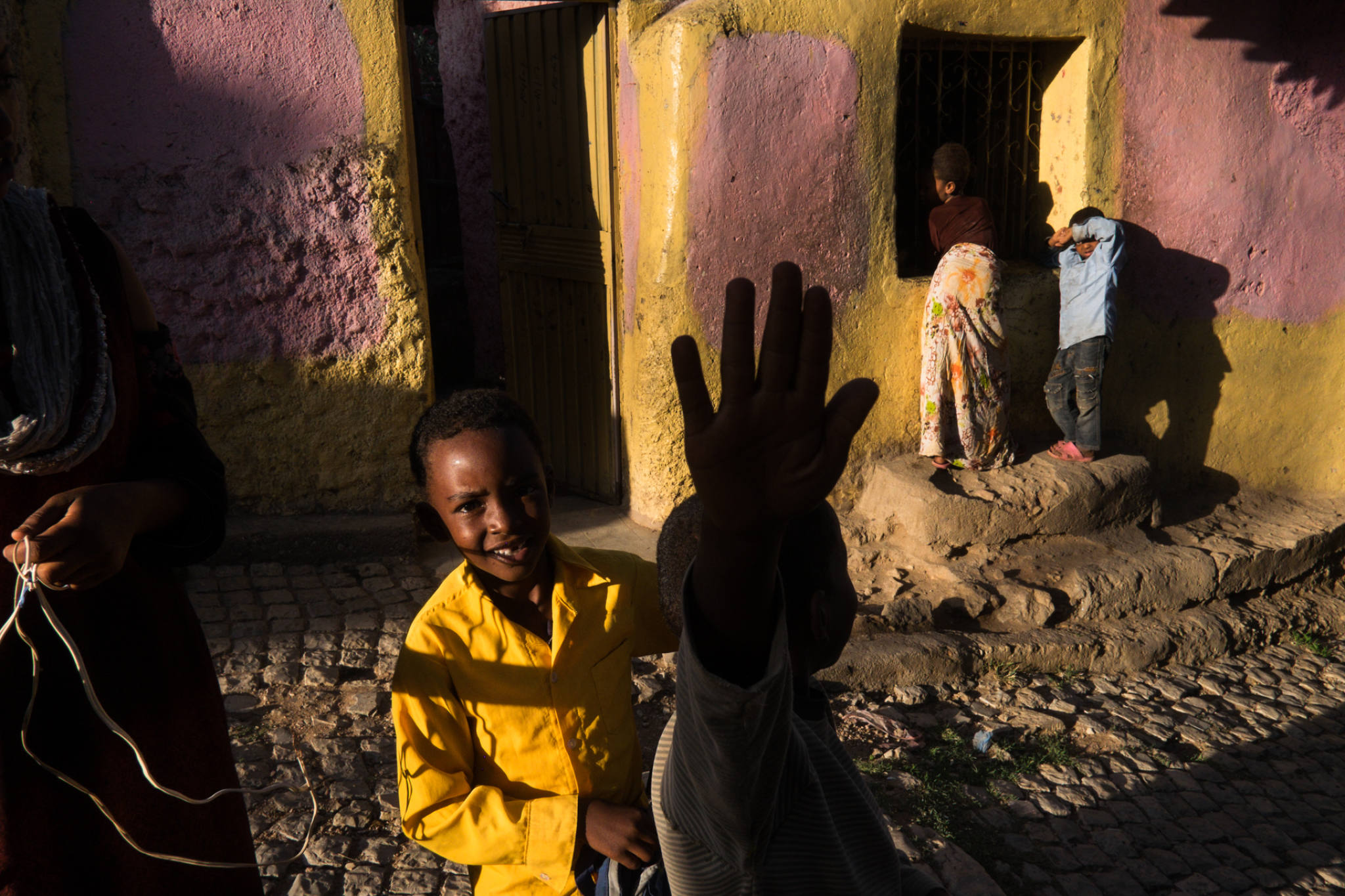 Ethiopia by Yves Vernin street photography color 38