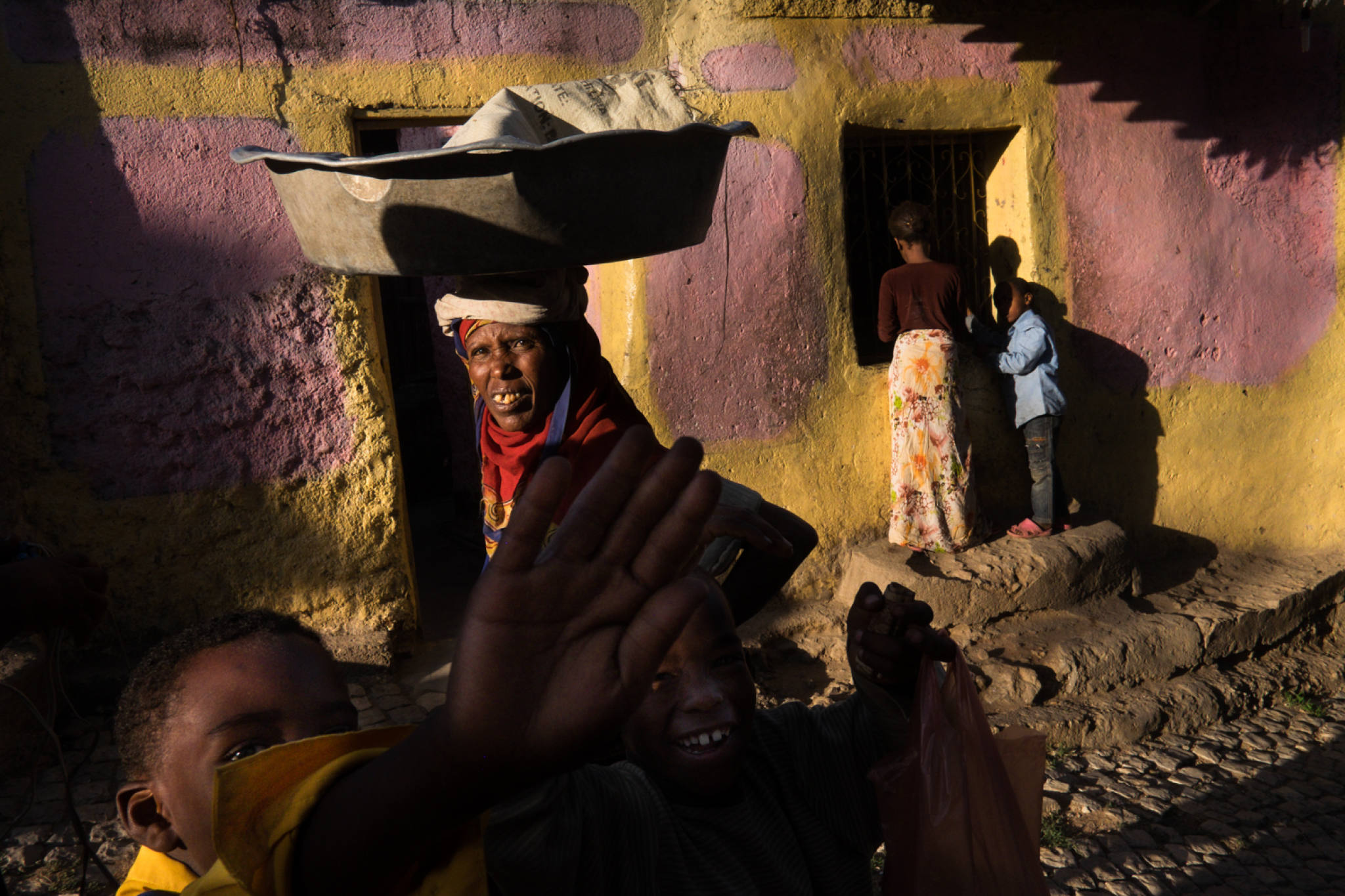 Ethiopia by Yves Vernin street photography color 39