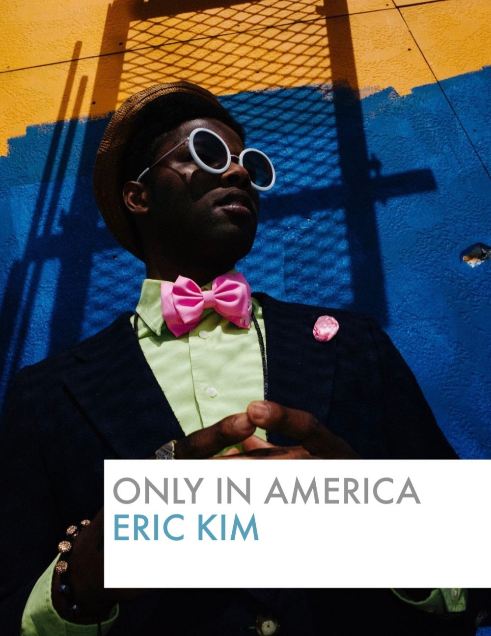 Only in america eric kim cover