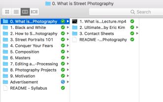 Street Photography Starter Kit Directory