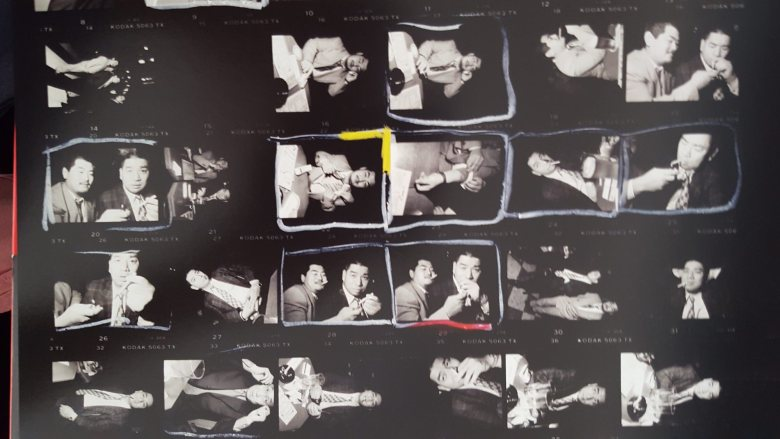 bruce gilden - yakuza cigarette contact sheet2