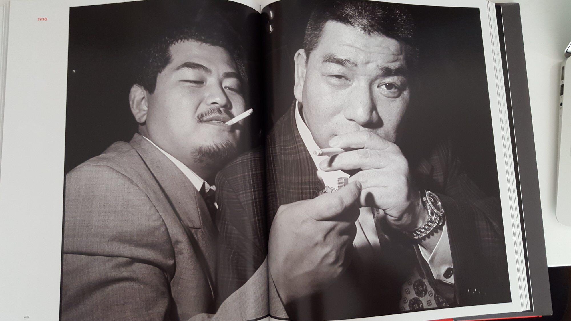 bruce gilden - yakuza cigarette contact sheet3
