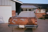 driveway and old chevorlet car eric kim only in america contact sheet5