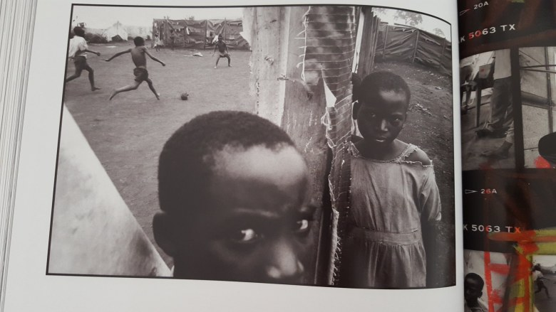 eli reed contact sheets - kids in africa6