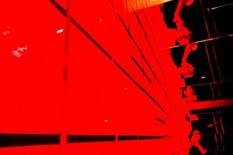 eric kim red ricoh selfie bape store reflection