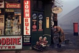 ENGLAND. London. 1954. Street corner at World's End.