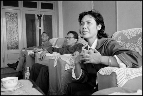 CHINA. Beijing. 1978. Actor/director Jin SHAN and actress Zheng ZENYAO.
