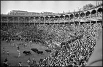 Spain. 1954. Pamplona. St. Fermines Festival.