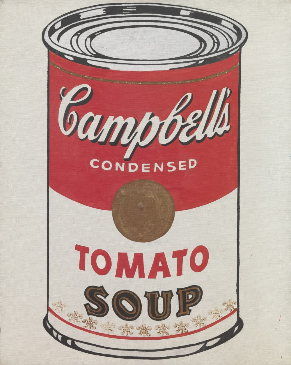 Soup can Andy Warhol Campbell