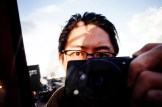 Eric kim eye selfie