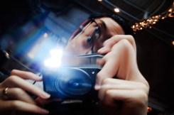 Distortion wtf selfie