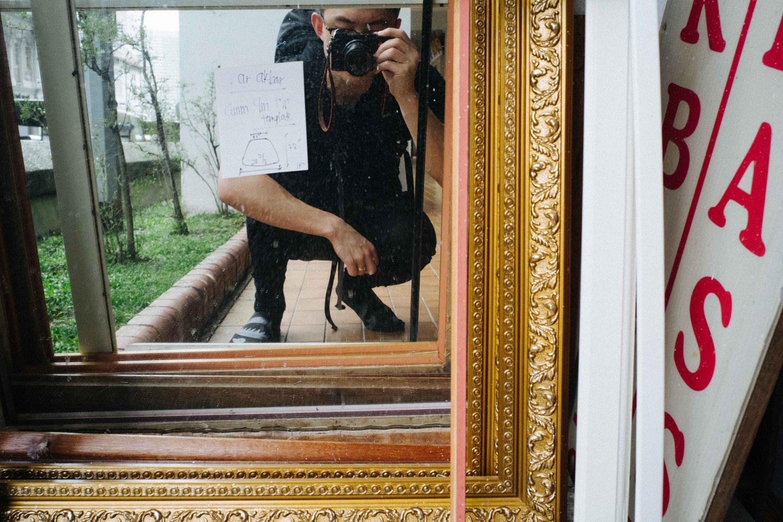 Eric kim selfie leica cl