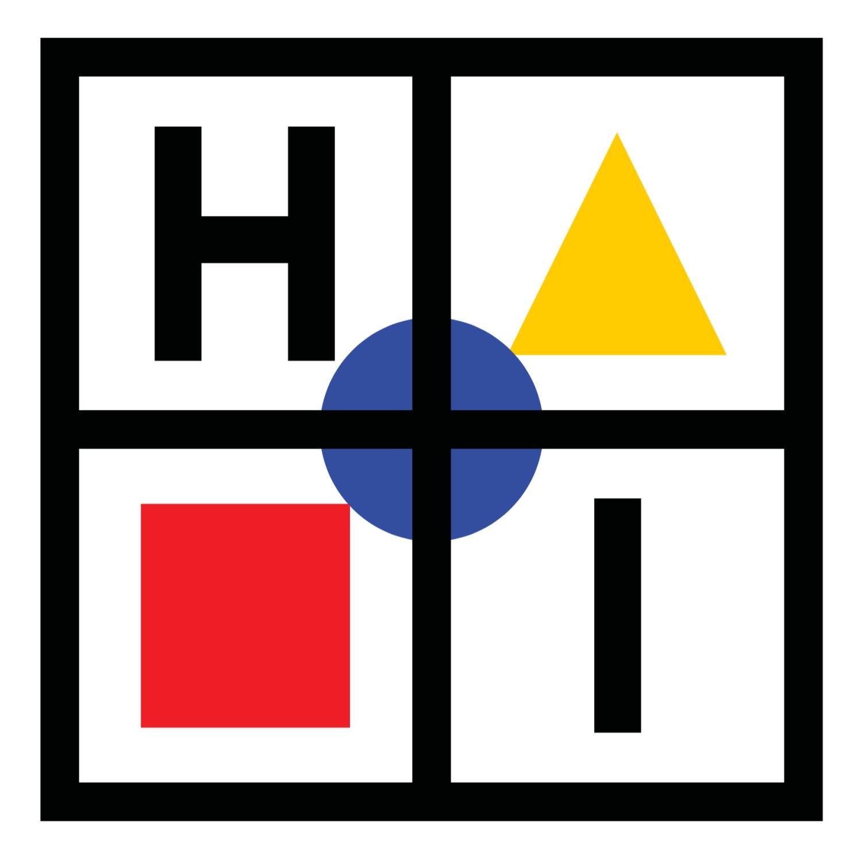 haptic industries white logo bauhaus