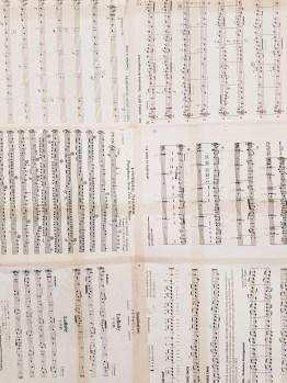 music sheets