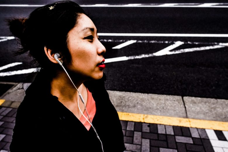 Cindy walking lines