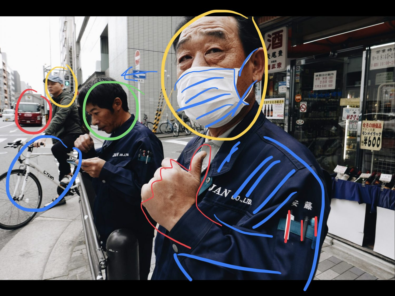 Sketch iPad thumb up Kyoto