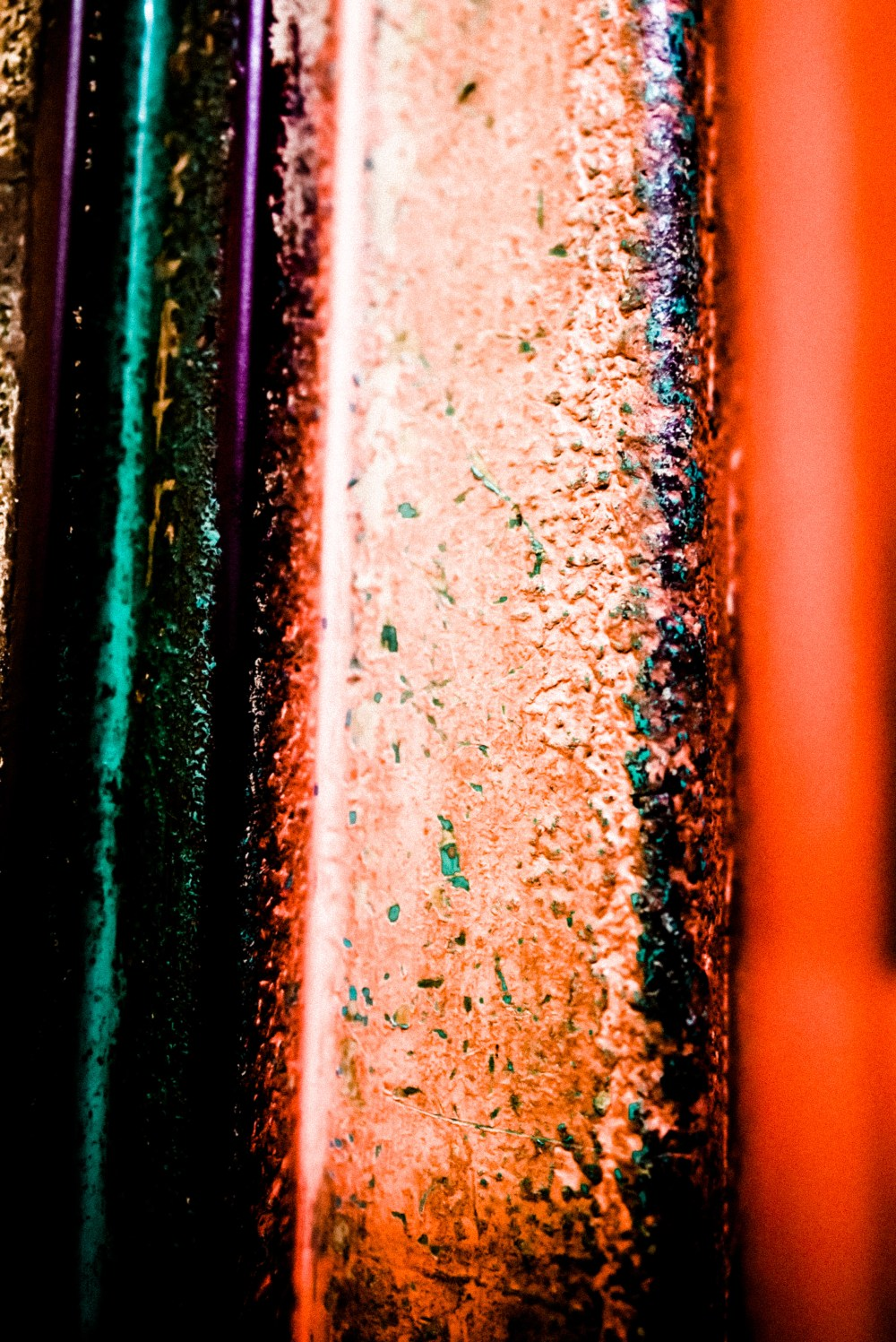 colorful gritty texture