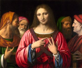 Full title: Christ among the Doctors Artist: Bernardino Luini Date made: probably about 1515-30 Source: http://www.nationalgalleryimages.co.uk/ Contact: picture.library@nationalgallery.co.uk Copyright © The National Gallery, London