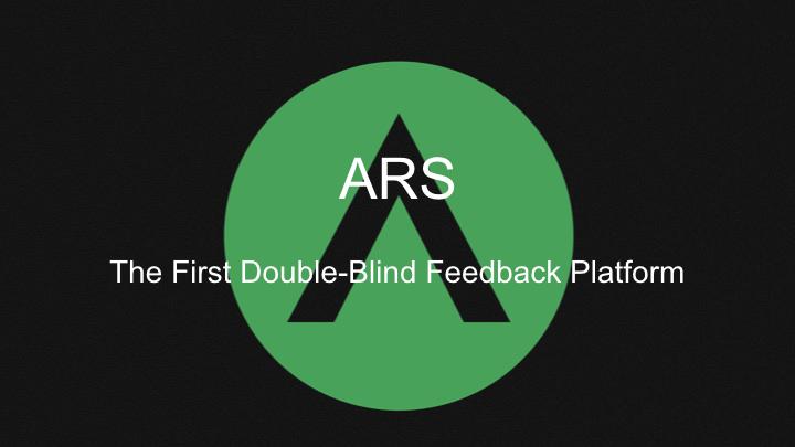 ARS Pitch Deck 2018.001