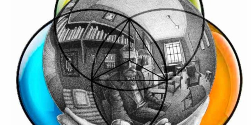 Study Math and Geometry for Visual Training in Composition