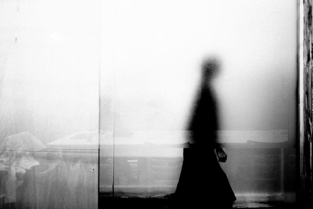 Cindy walking ghost