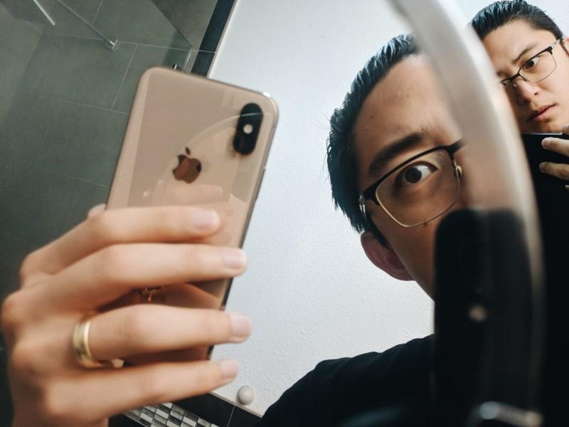 Pixel 3 vs iPhone xs selfie