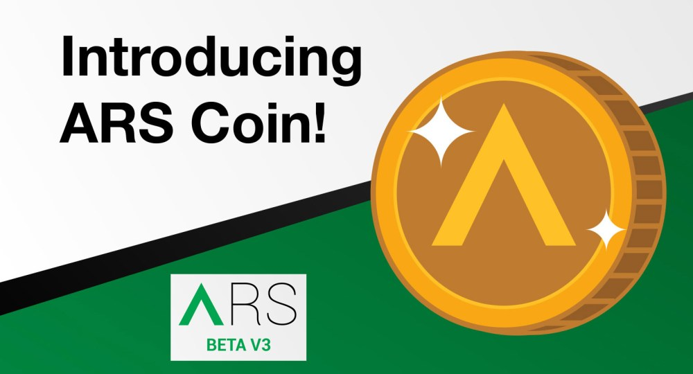 ARS Coin version 3