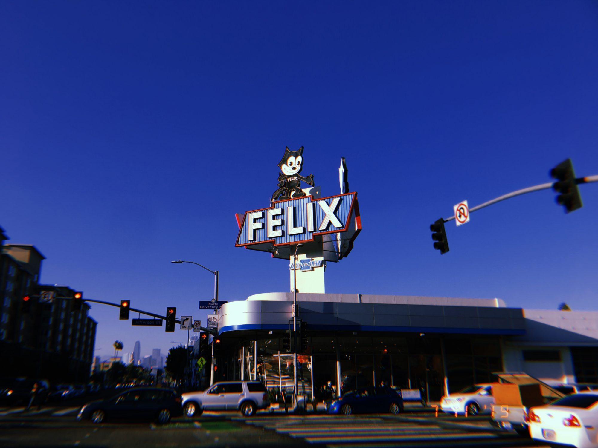 Los Angeles, 2019. Felix