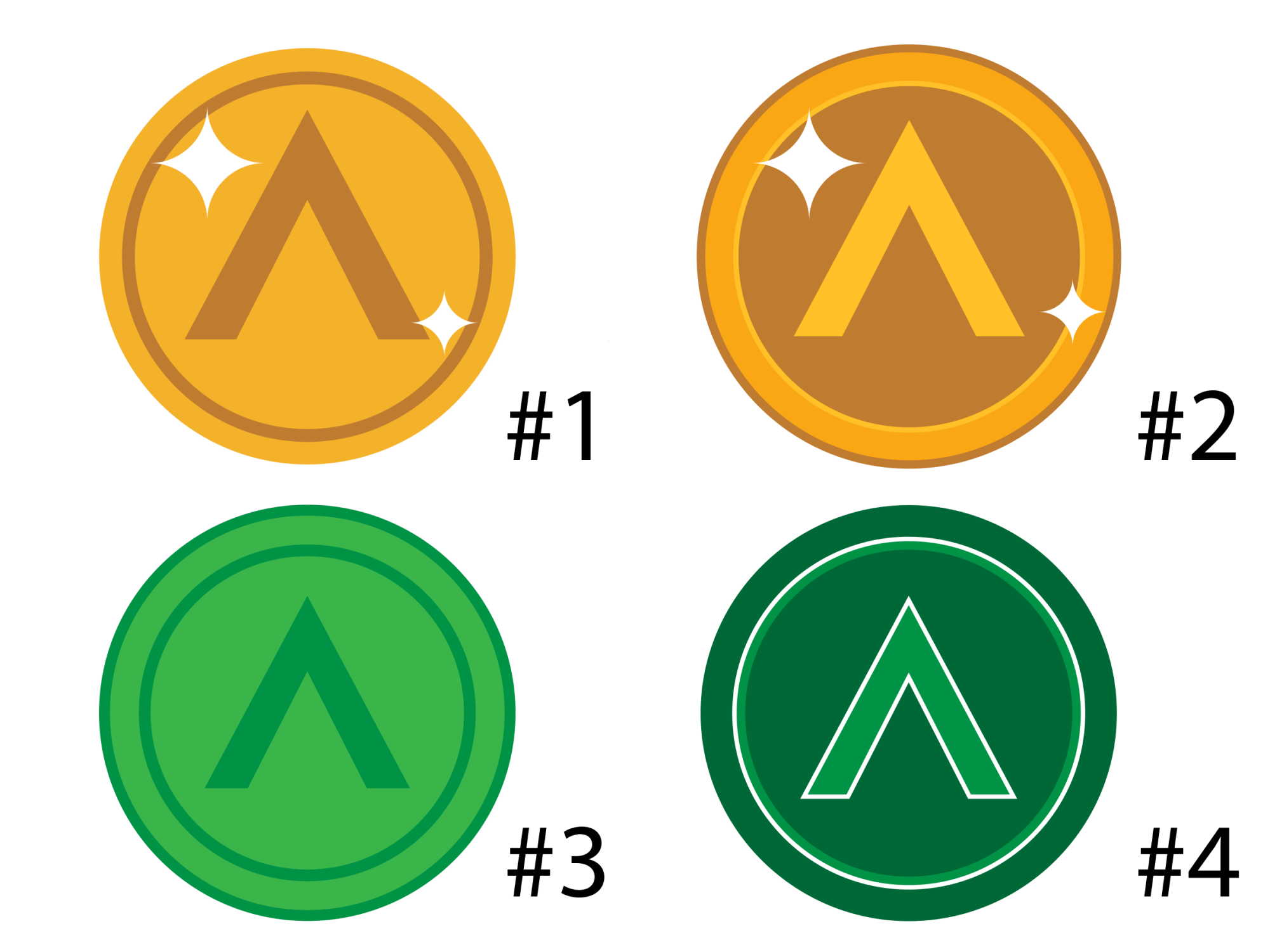 Design choices for ARS COIN (created by ANNETTE KIM)