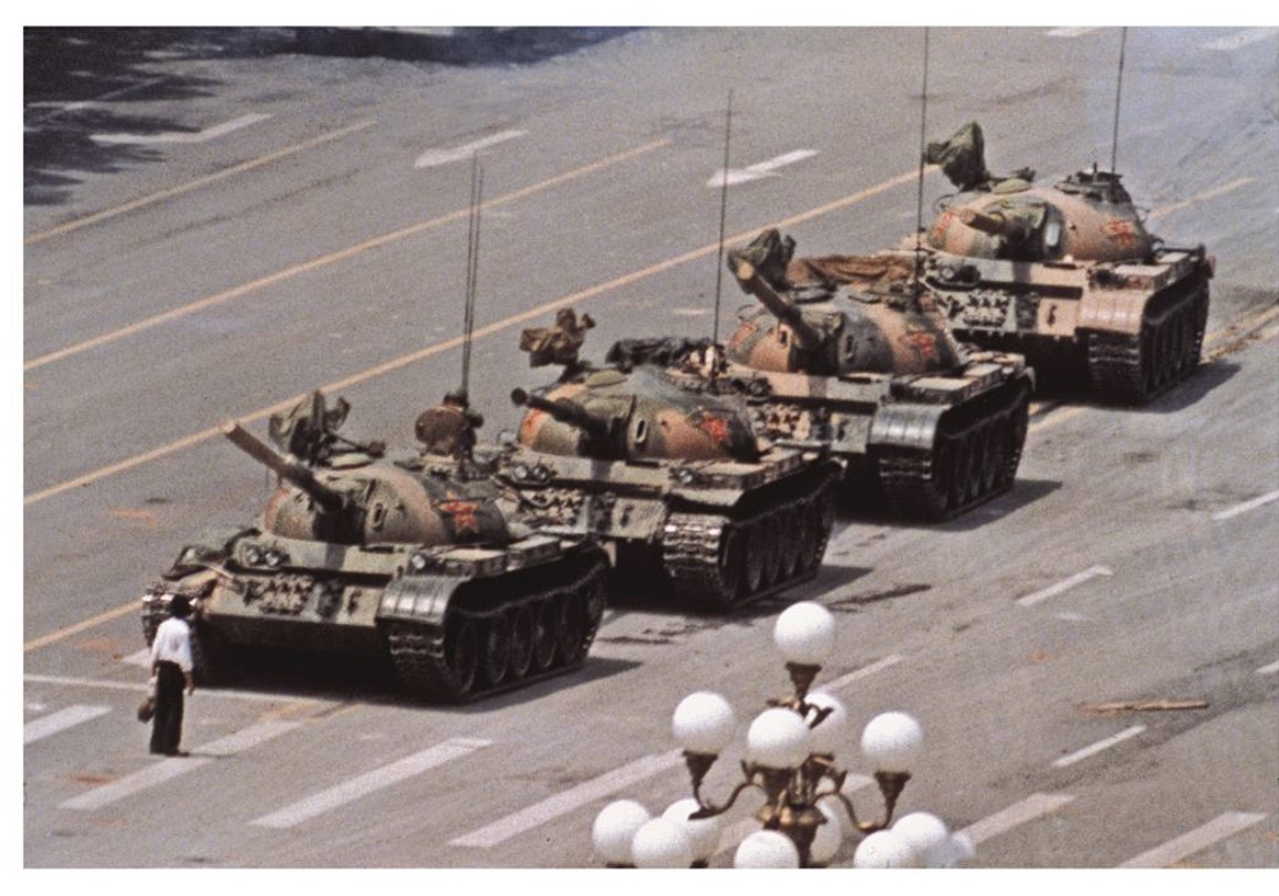 Tank Man (1989) – The Unknown Protester by Jeff Widener