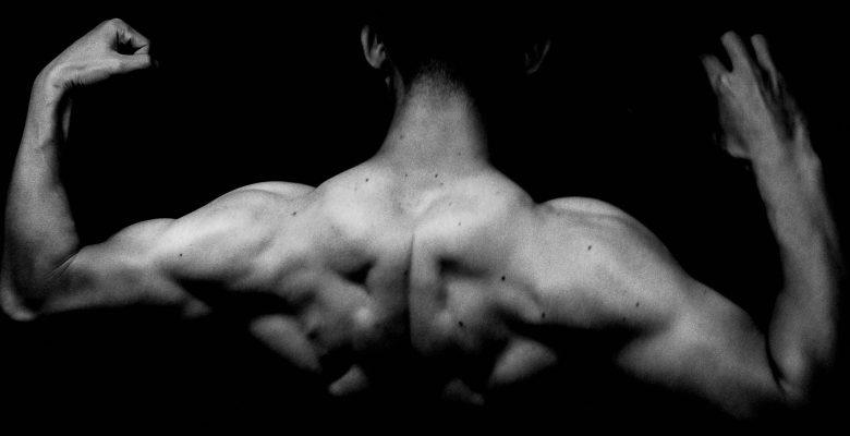 back muscle flex eric kim