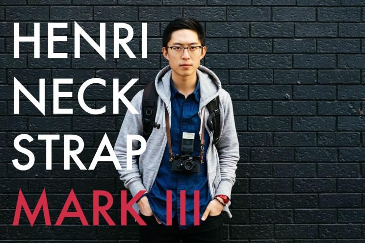 HENRI NECK STRAP MARK III