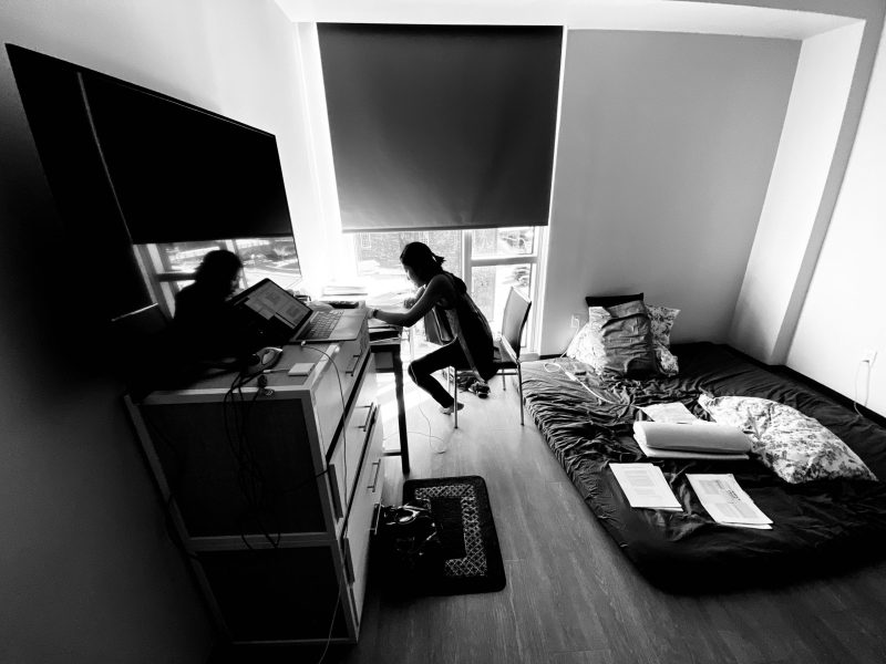 iPhone Pro: tiny apartment ultra wide angle photo