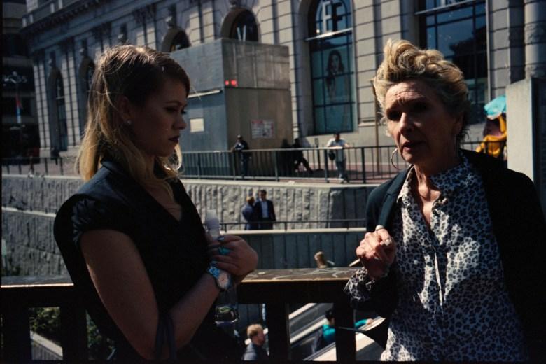 San Francisco, 2015. Two women