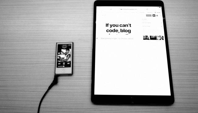 My iPad and iPod nano