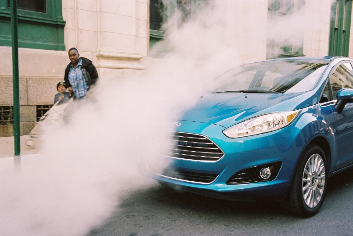 Detroit, steam, Ford Fieta.