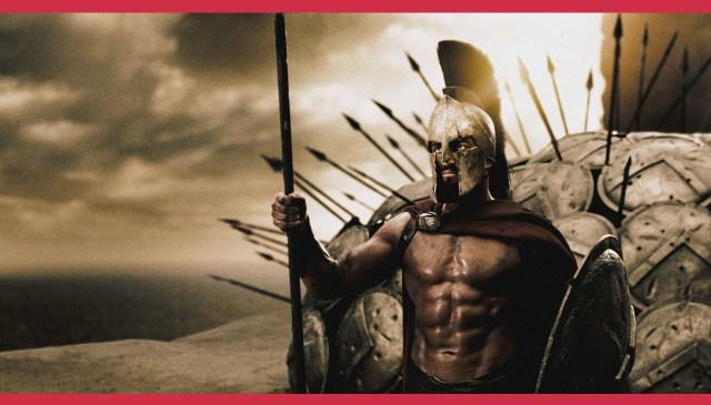 King Leonidas— a true man of virtue.