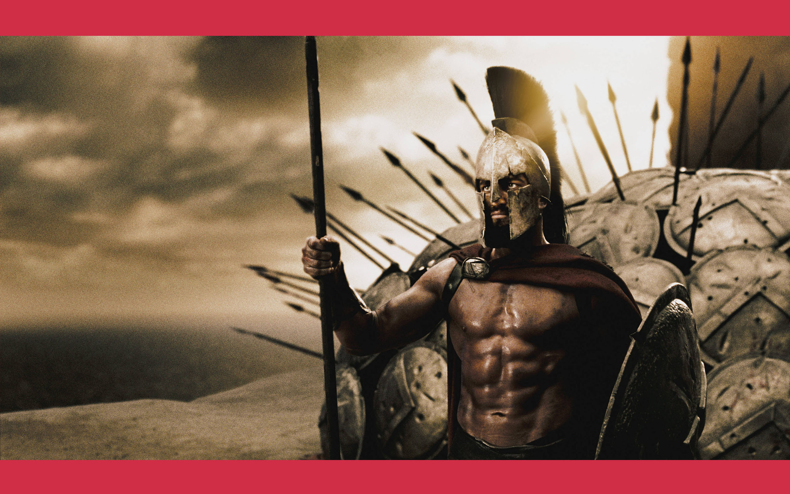 King Leonidas— a true man of virtue.