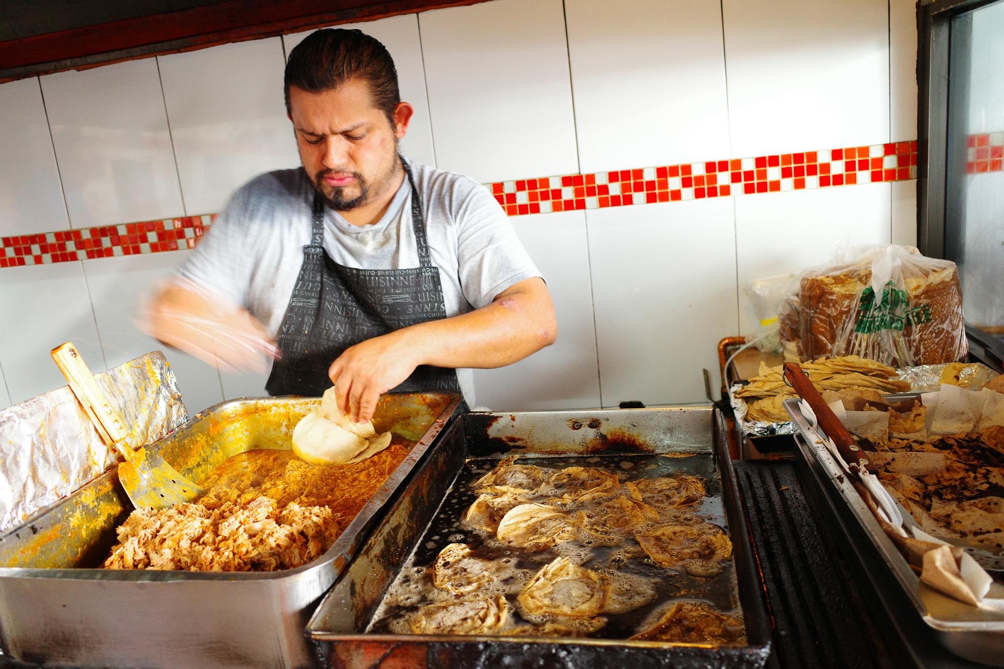 Cochinita Pibil (stewed pork) in Polanco Mexico City