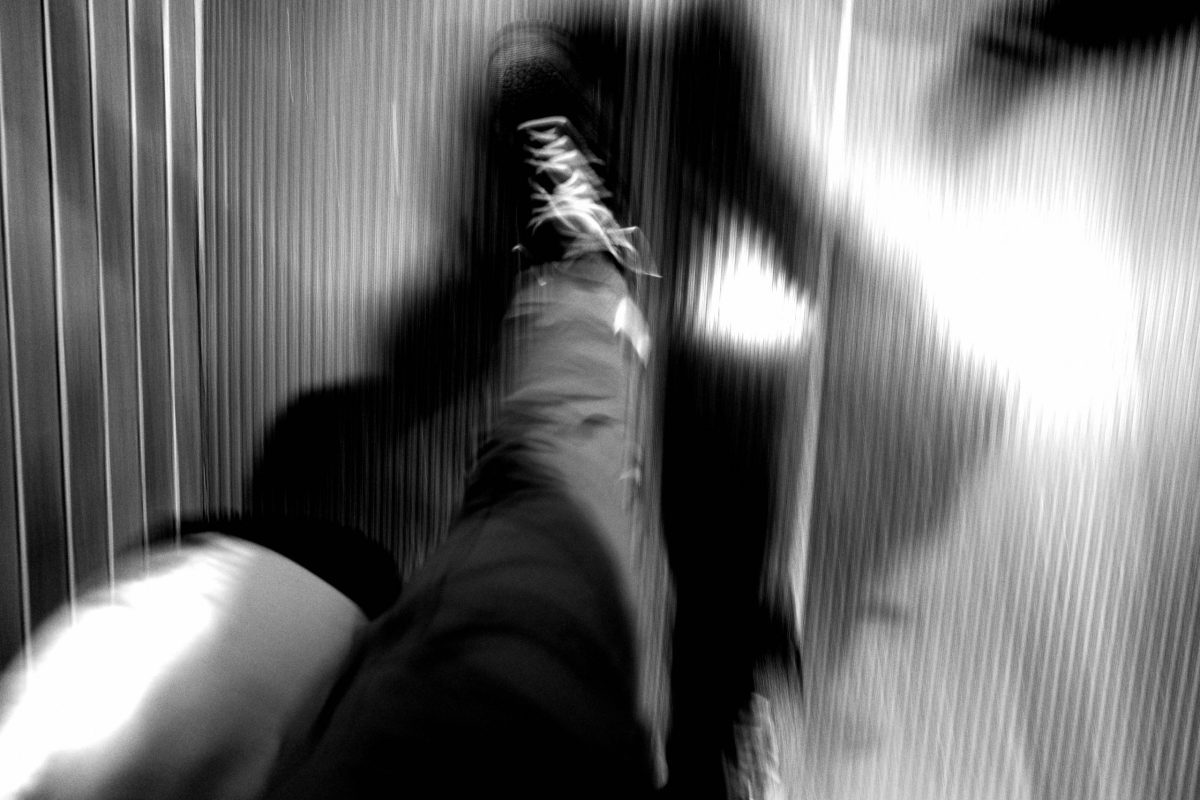 Photograph with Your Feet!