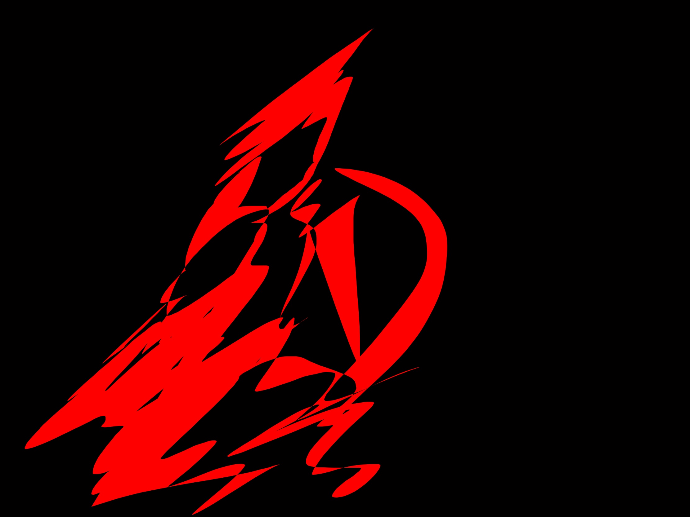 Abstract red king Leonidas 300 Sparta