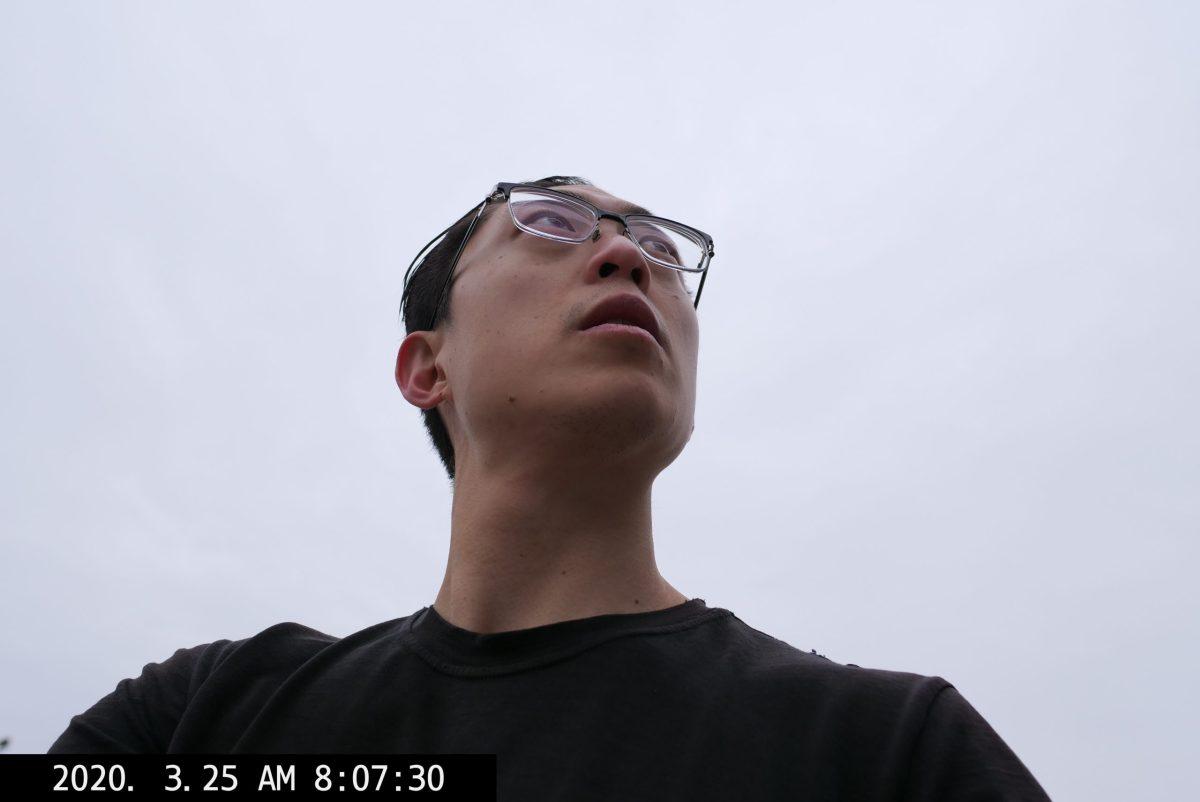 ERIC kim selfie low angle