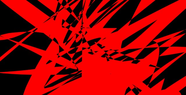 red black abstract ERIC KIM