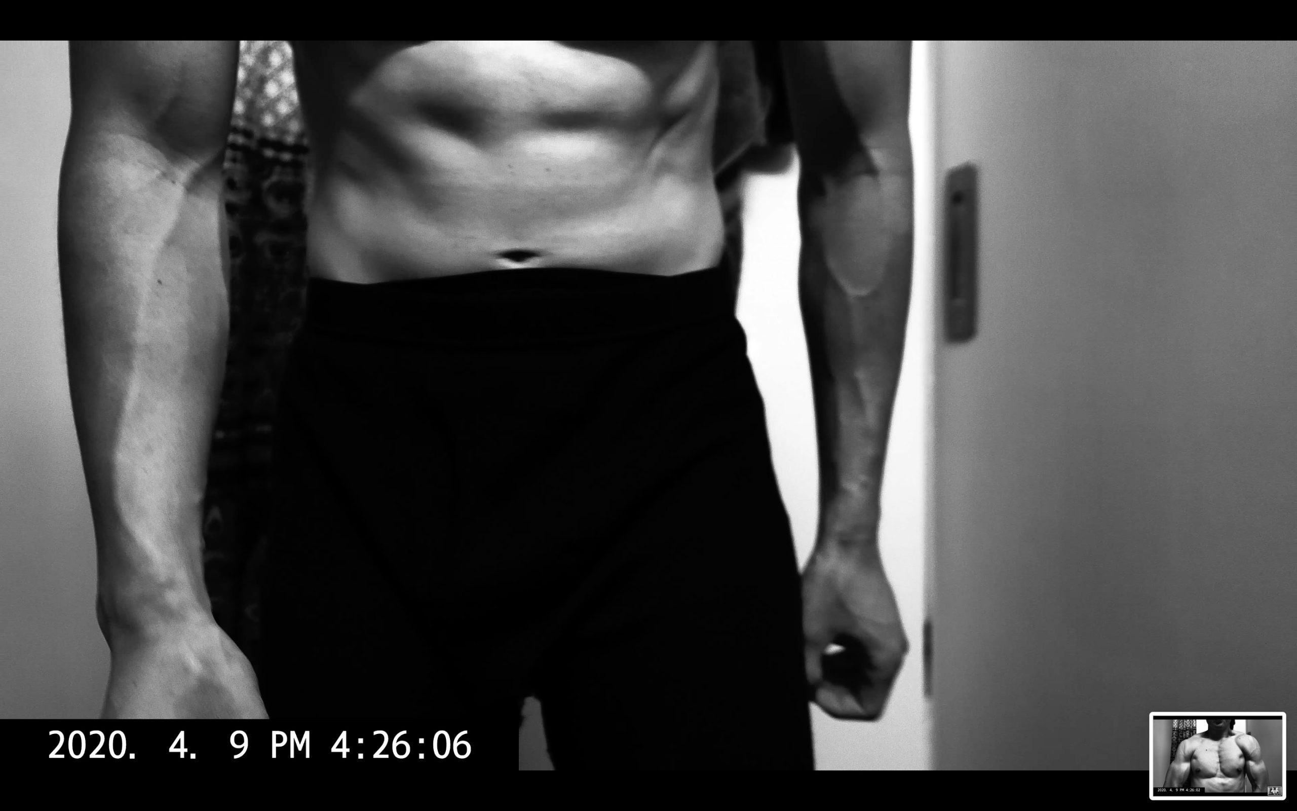 front abs ERIC KIM muscle flex 4k screenshot 00040