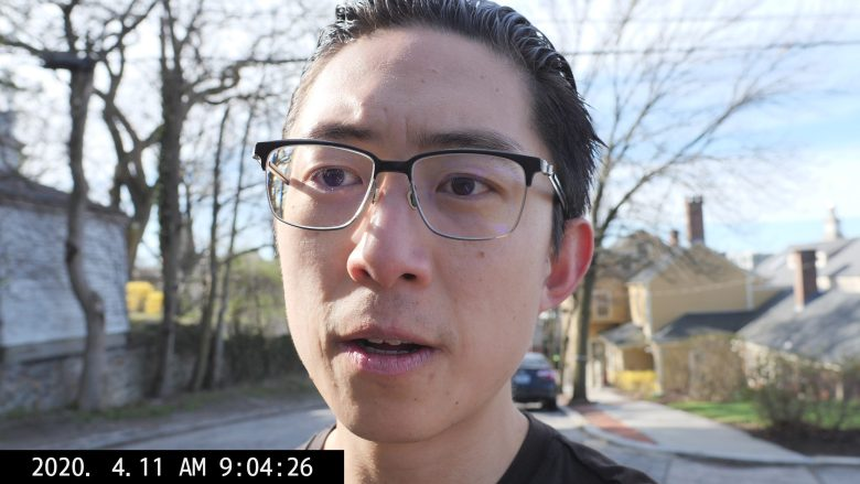 SELFIE ERIC KIM WALKING TALKING