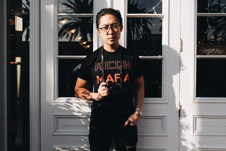 RICOH MAFIA: Eric Kim NECK STRAP MARK II x ERIC KIM