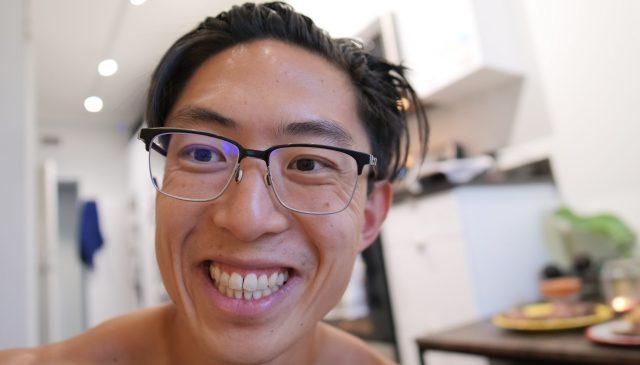 Selfie ERIC KIM apartment