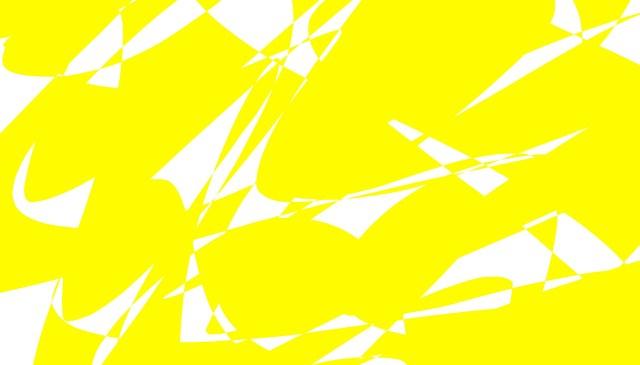 yellow white abstract ERIC KIM