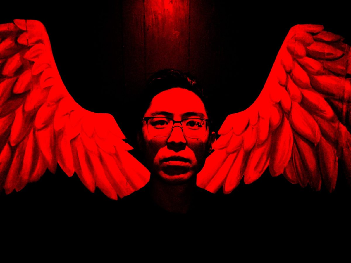 selfie angel